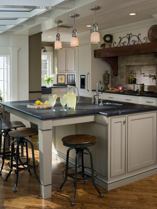 Taupe Kitchen Home Design Ideas, Pictures, Remodel and Decor