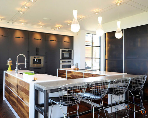 Idee Cucine Piccole. Awesome Narrow Kitchen With Ikea Kitchen ...