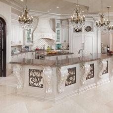 Mediterranean Kitchen by Sneller Custom Homes and Remodeling, LLC