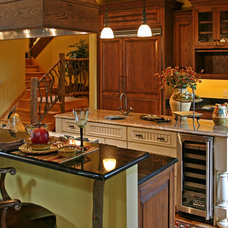 Traditional Kitchen by Appalachian Antique Hardwoods