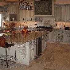 Mediterranean Kitchen by Woodmaster Kitchen & Bath Inc.