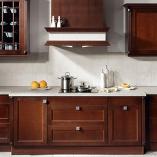 Contemporary Kitchen by Woodmaster Kitchen & Bath Inc.