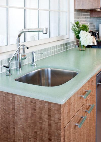 Welche Küchenarbeitsplatte? Beton, Corian und Granit im Material-Check