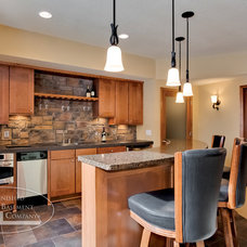 Traditional Kitchen by Finished Basement Company