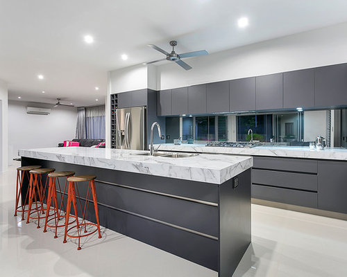 kitchen designs cairns. Cairns Kitchen Design Ideas Renovations Photos With Mirror Splashback Designs  Home Mannahatta us
