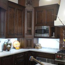Mediterranean Kitchen by Lisa Joyce Design