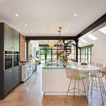 Woodside - open plan kitchen