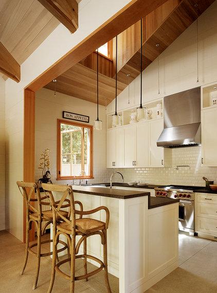 Transitional Kitchen by Charlie Barnett Associates