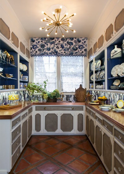 Traditional Kitchen by Brooke Grafstrom Interior Design LLC