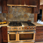 Cottage Charm Rustic Kitchen Grand Rapids By