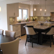 Transitional Kitchen by The Expert Touch Interiors