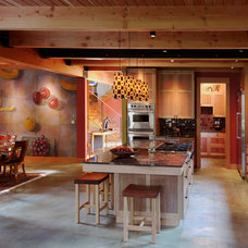 Contemporary Kitchen by Blox Construction
