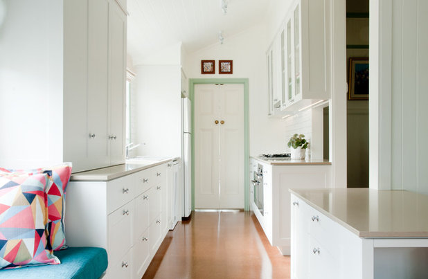 Traditional Kitchen by Claire Stevens Interior Design