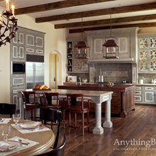 Traditional Kitchen by Anything But Plain, Inc.
