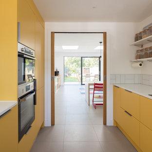 Wrap Around House Kitchen