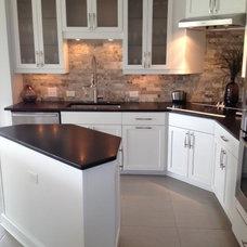 Modern Kitchen by Mark Johnson Custom Homes