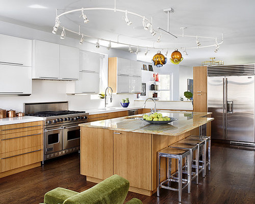 Galley Kitchen Track Lighting Ideas, Pictures, Remodel and Decor