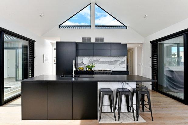 Contemporary Kitchen by Bridgens Construction & Design