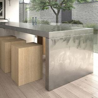 Contemporary kitchen designs - Example of a trendy kitchen design in Miami