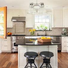 Traditional Kitchen by Kurzhaus Designs, Inc.