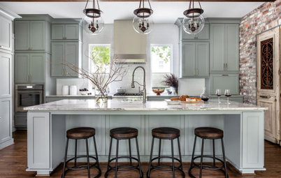 Kitchen of the Week: Industrial Charm in a New Craftsman
