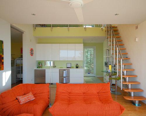 k chen mit korkboden und integriertem waschbecken ideen. Black Bedroom Furniture Sets. Home Design Ideas