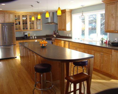 L Shaped Kitchen Diner Design Ideas Renovations Photos