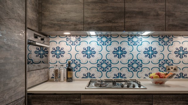 Industrial Kitchen by Ample DESIGN