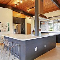 Midcentury Kitchen by Stephanie Fisher Designs