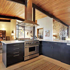 Midcentury Kitchen by Stephanie Fisher Designs