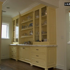 Traditional Kitchen by Evans Woodworking Inc