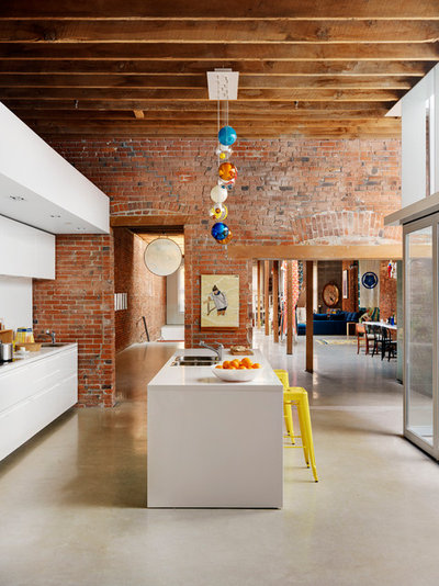 Industrial Kitchen by ReNew Design