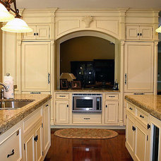 Traditional Kitchen by Susan Serra