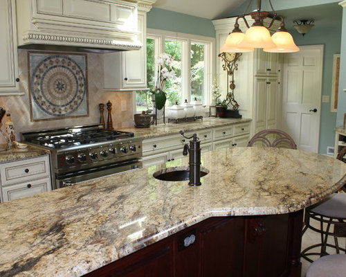Yellow River Granite Home Design Ideas, Pictures, Remodel and Decor