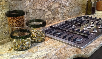 Yellow River granite tops & full backsplash