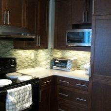 Kitchen by Michelle Yaworski – Gem Cabinets Ltd