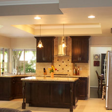 Traditional Kitchen by Greenwise Construction
