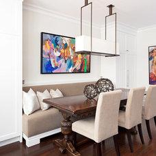 Transitional Kitchen by Motto  Interior Design