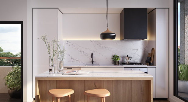 Contemporary Kitchen by NProjects