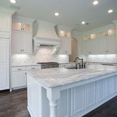 Transitional Kitchen by Canterbury Custom Homes LLC
