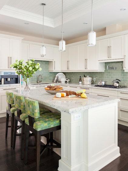 Transitional Kitchen by PRINCIPLES DESIGN STUDIO INC