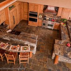 Rustic Kitchen by Steven Paul Whitsitt Photography