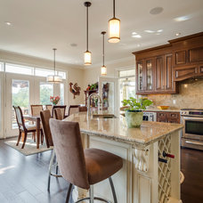 Traditional Kitchen by Alair Homes Toronto