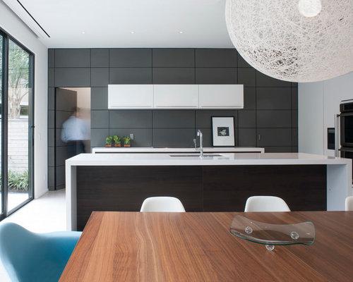 cuisine parall le alucobond cladding photos et id es d co de cuisines. Black Bedroom Furniture Sets. Home Design Ideas