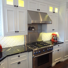 Traditional Kitchen by JWS Woodworking and Design Inc.