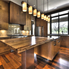 Kitchen by J. Aaron Custom Wood Countertops