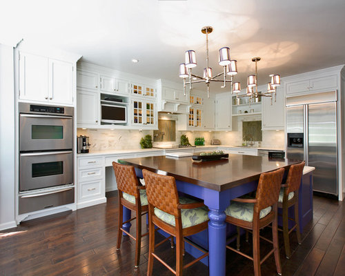 Small Kitchen Islands With Seating Home Design Ideas, Pictures, Remodel and Decor