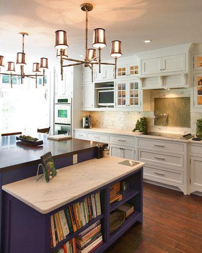 Transitional Kitchen by Olga Adler
