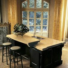 Eclectic Kitchen by Zenith Granite