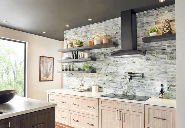 Transitional Kitchen by ZEPHYR